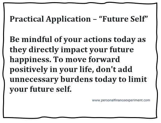 "Practical Application - ""Future Self"""
